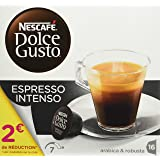 Nescafé Dolce Gusto ESPRESSO INTENSO - Café - Pack de 16 -128g