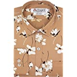 Arihant GHPC Printed 100% Cotton Full Sleeves Regular Fit Formal Shirt for Men