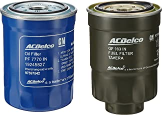 ACDelco K5000IN High Performance Oil-Fuel Filter Kit for Chevrolet Tavera