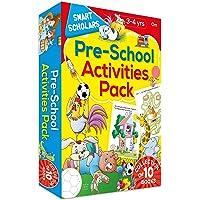 Pre-School Activities Pack ( Collection of 10 books) (Smart Scholars)