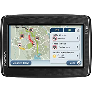 tomtom go live 820 4 3 sat nav with uk and ireland maps electronics. Black Bedroom Furniture Sets. Home Design Ideas