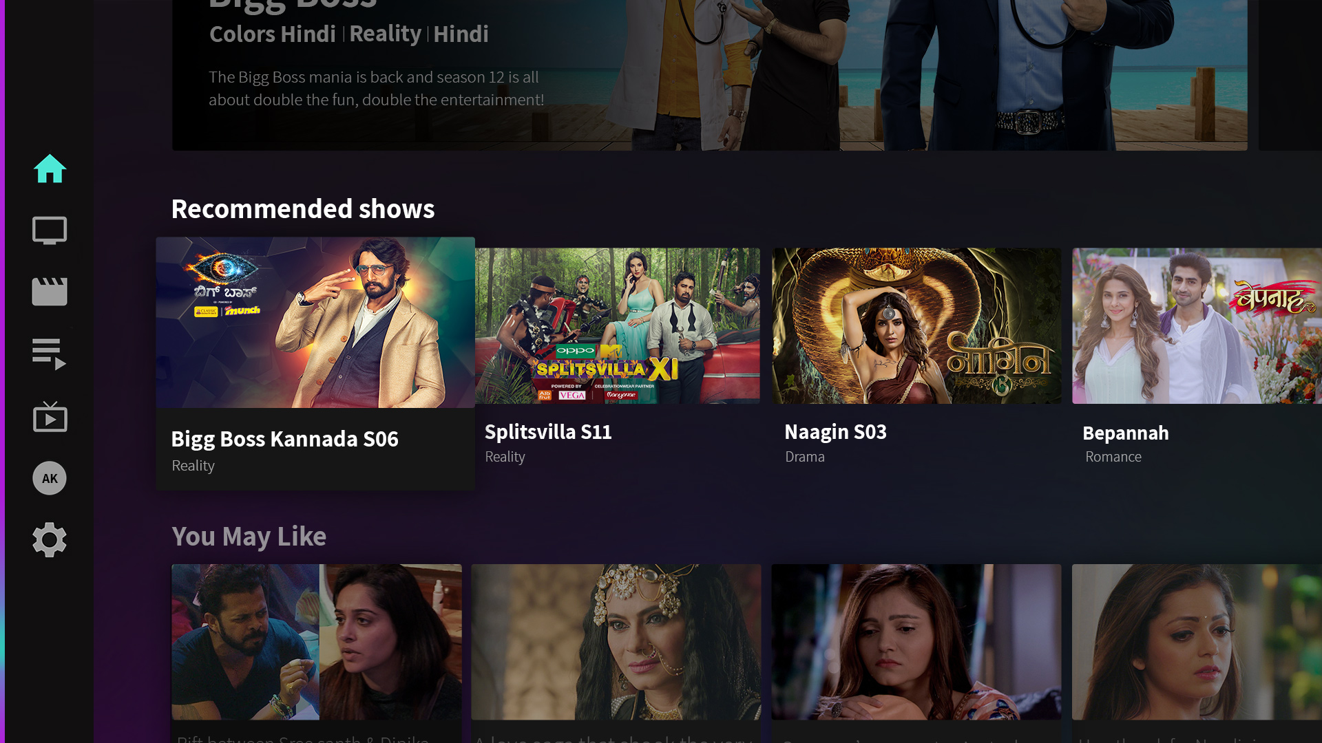 Voot-TV Shows Originals Movies