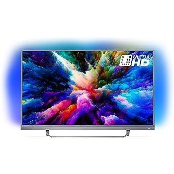 """Philips 49PUS7503 Smart TV UHD 4K, da 49"""", Android, Ultra Slim, Ambilight, anno 2018 [Esclusiva Amazon.it]"""