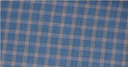 Raymond Men's 100% Cotton Egyptian Giza Checkered Un-Stitched Shirt Fabric (1.60 MTR_Multi Color_RG2308)