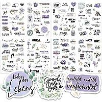Sticker Hochzeit Gästebuch (164 Motive) - Vintage Hochzeit Aufkleber für Gästebuch oder Fotoalbum mit viel Liebe - Love…