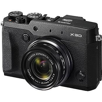 """Fujifilm X30 - Cámara compacta de 12 Mp (pantalla de 3"""", zoom óptico 4x, estabilizador digital, vídeo Full HD), negro"""