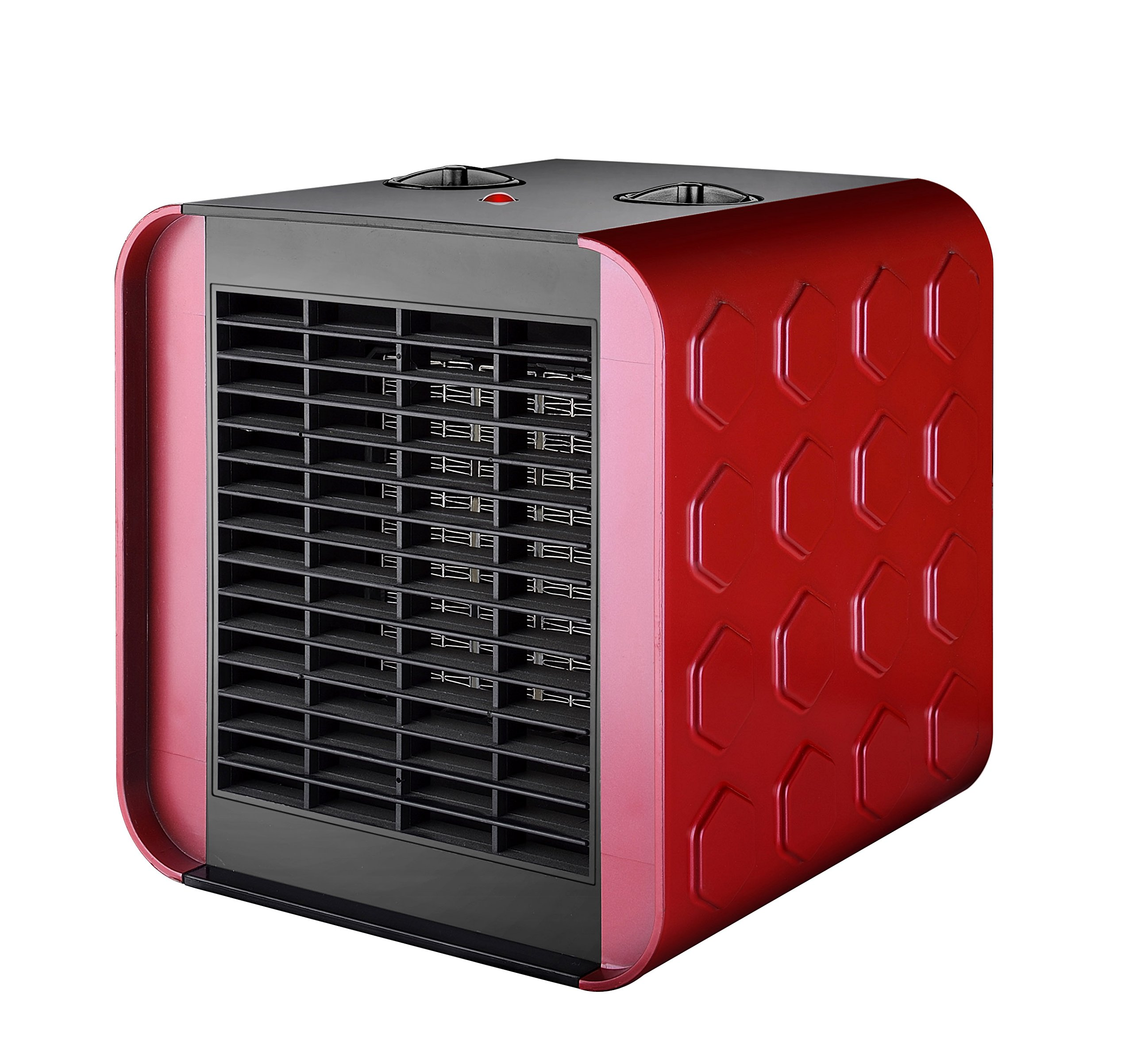 Termoventilatore ceramico PTC oscillante con potenza regolabile da 750 a 1500 Watt