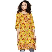Indigo Women's cotton straight Kurti
