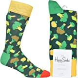 Happy Socks Half Stripe Sock Calcetines, OPACAS para Hombre