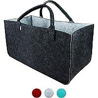 LoFelt® Filztasche - einsetzbar als Einkaufskorb, Shopper oder als Aufbewahrung für Geschenke - Tasche in XXL - Big Bag…