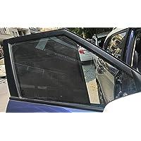 Zapcart Car Side Window Non-Magnetic Sun Shades Compatible with Hyundai Grand i10, Set of 4