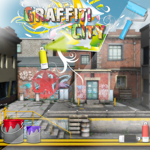 Graffiti City - (HD) Hidden Objects Game - Paid No Ads