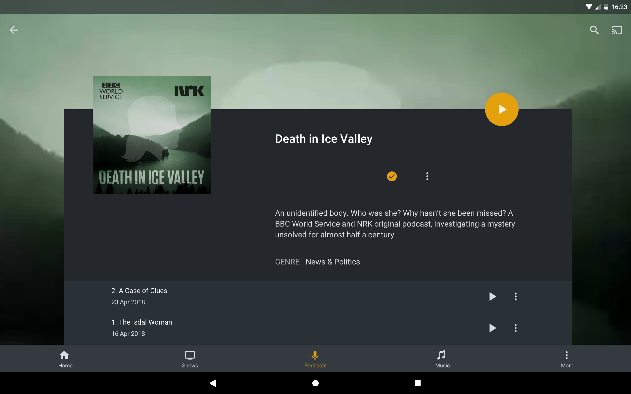 Plex Screenshot