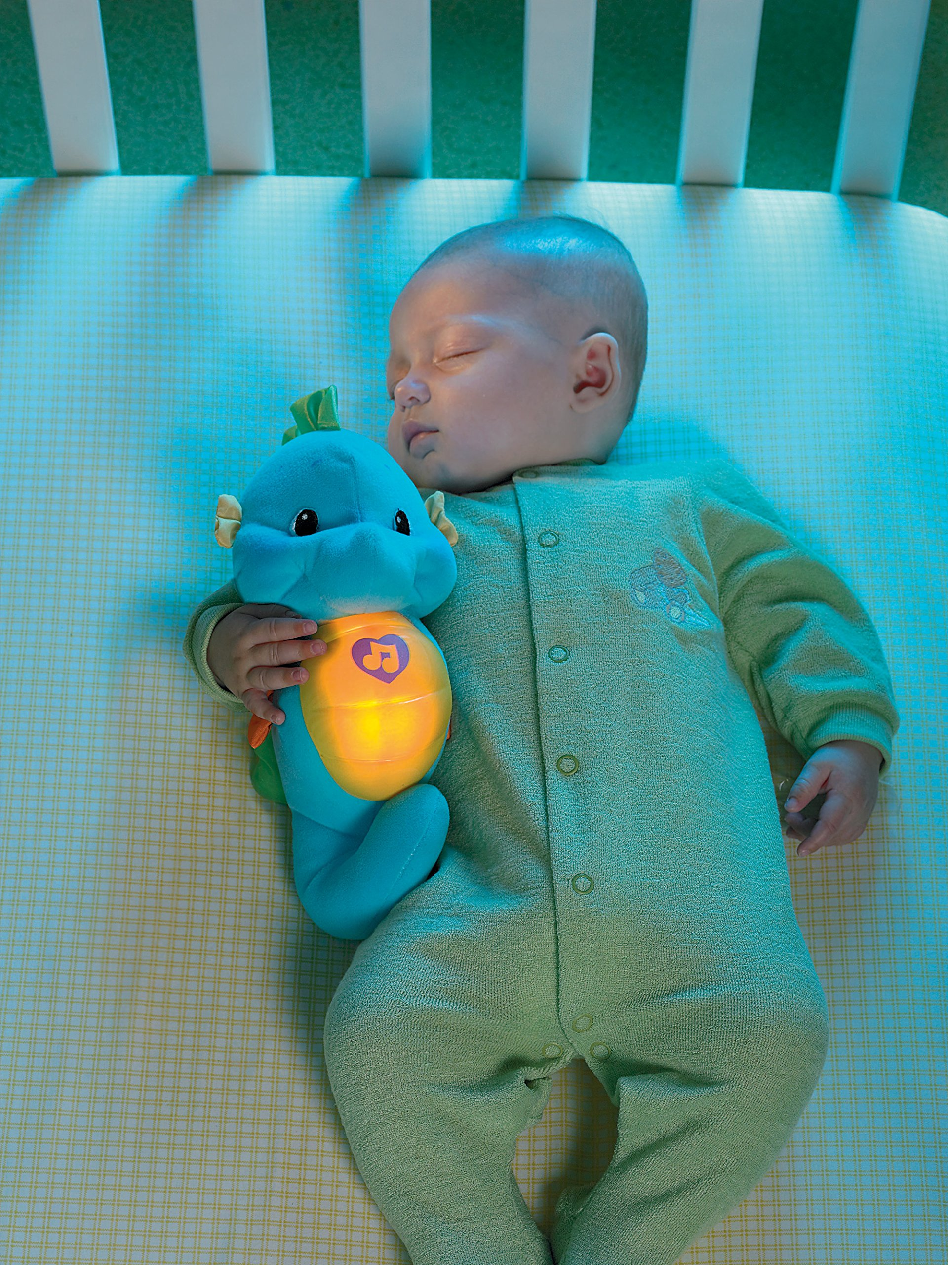 Fisher Price - Soothe N Glow - Seahorse, Blue 2