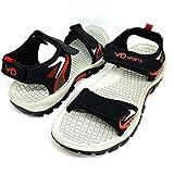 AASh Men's Sports Beach Trekking Walking Hiking Touch Close Strap Sandals Sizes 6-10 Grey Blue