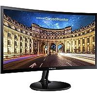 """Samsung 27F390 Monitor Curvo FHD da 27"""", 1920 x 1080, 16.7 Milioni di Colori, 4 ms, 2 HDMI, D-Sub, USB, Nero"""