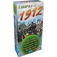 Les Aventuriers du Rail Europe - Extension : 1912 - Asmodee - Jeu de société - Jeu de plateau - Jeu de stratégie