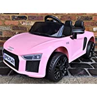 Audi Licensed Kids R8 Spyder Roadster Sports Car with Remote Control 12v Electric / Battery Ride on Car - Pink