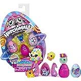 Hatchimals CollEGGtibles, Cosmic Candy Multipack con 4 Hatchimals, para niños a Partir de 5 años (los Estilos Pueden Variar)