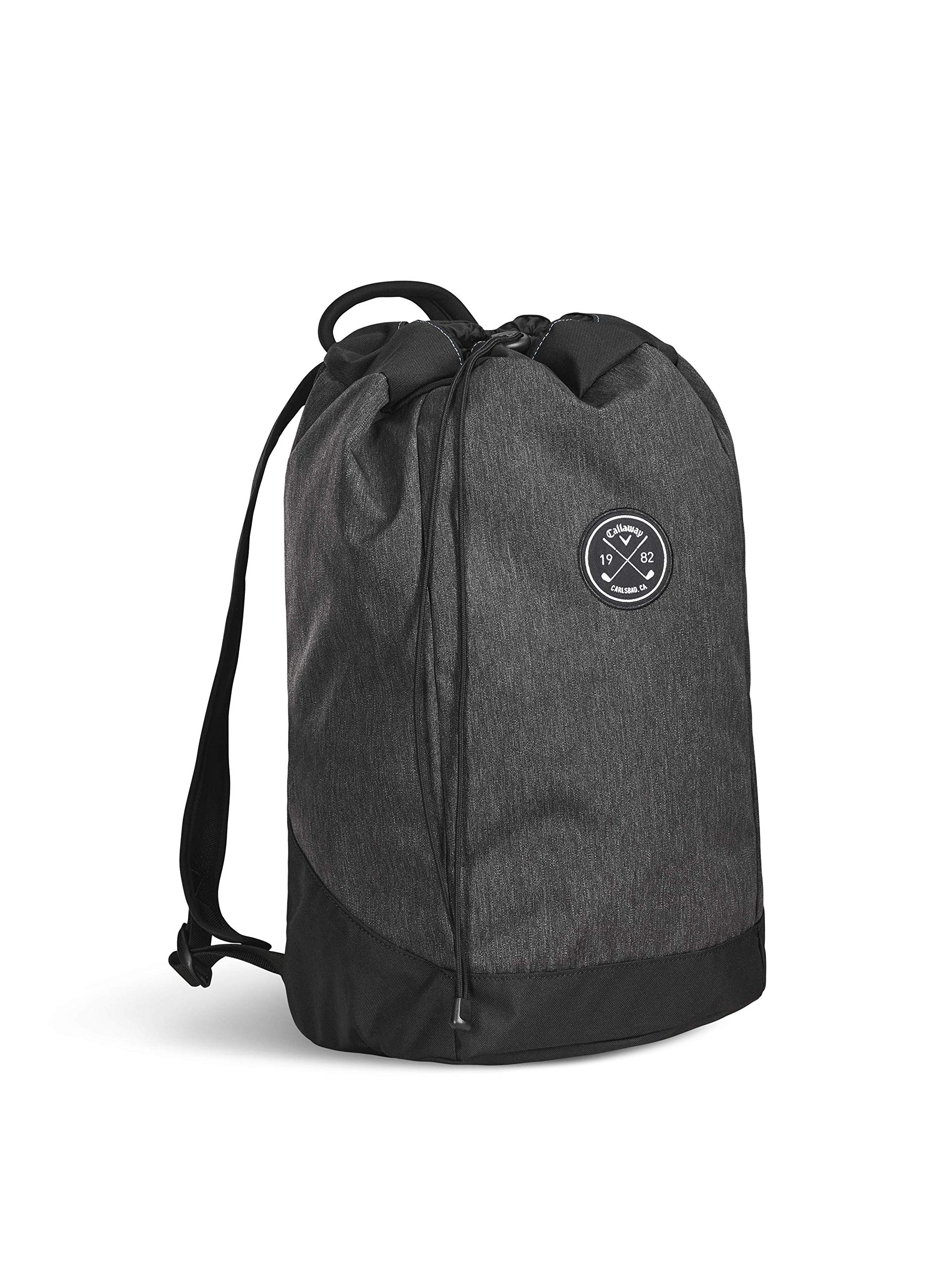 Callaway Men's Clubhouse Backpack, Black, One Size Callaway Padded Laptop Sleeve Comfort Grip Handle Interior Mesh Pocket with Key Clip 1