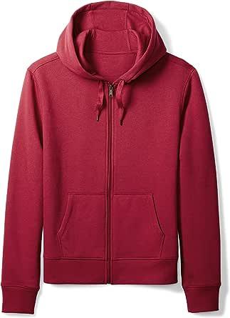 Amazon Essentials - Full-Zip Hooded Fleece Sweatshirt, Fashion-Sweatshirts Uomo