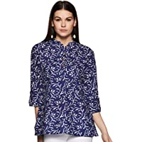 Amazon Brand - Myx Women's Regular Short Kurti