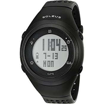 Soleus Fly - Reloj GPS, Color Blanco y Negro