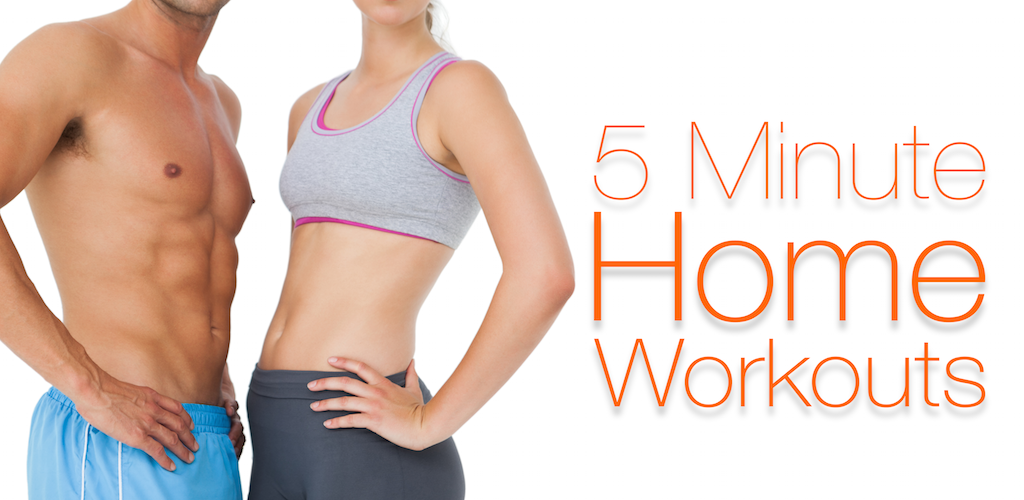 5 Minutes Fitness Maison - Exercices pour abdominaux, pour perdre du poids, yoga e plus!
