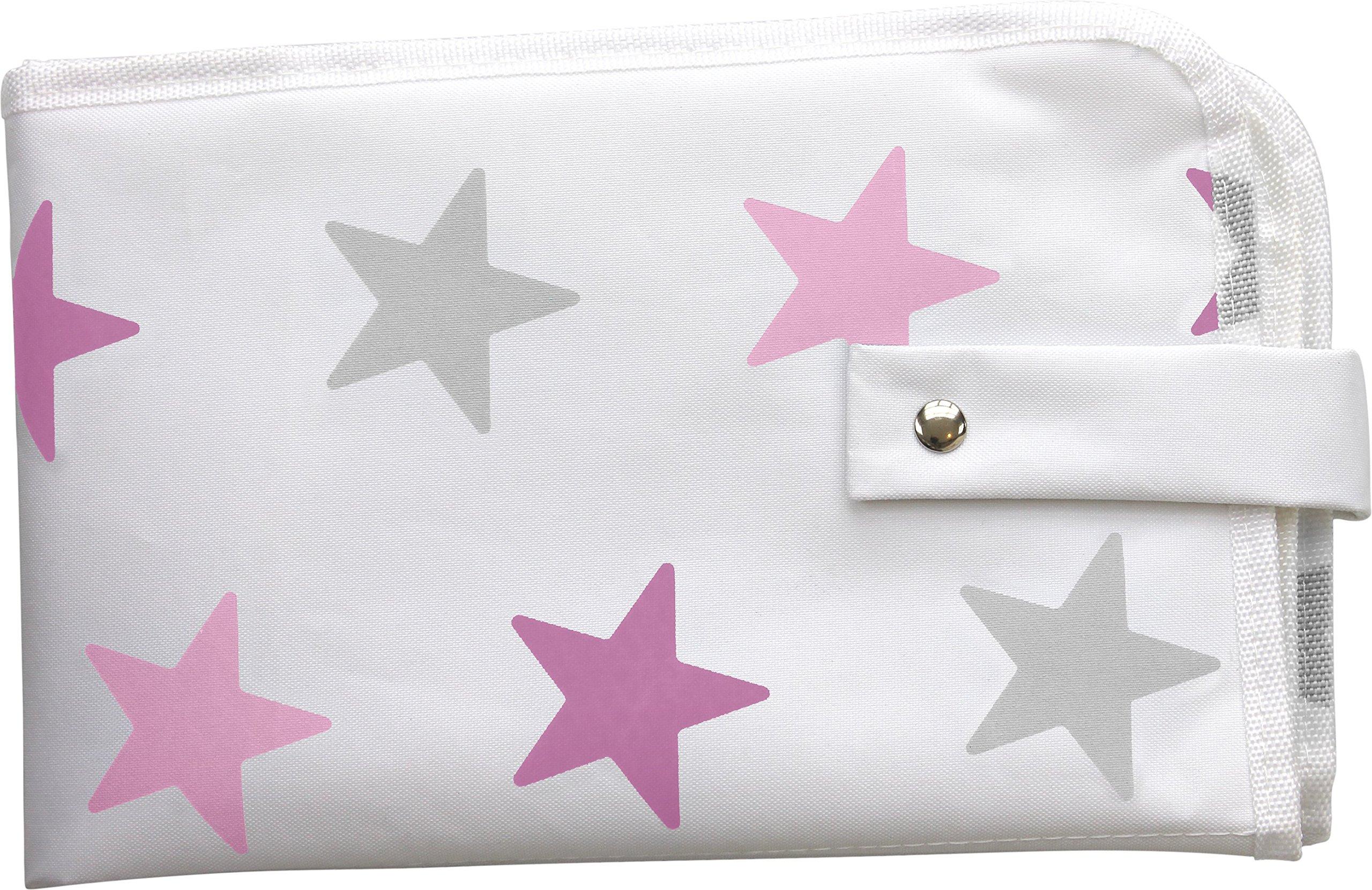 Dooky–Care 126465Borsa per pannolini, motivo stella, colore: rosa
