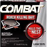 Combat Roach Killing Bait, Large Roach Bait Station, 8 Count (780059/41913)