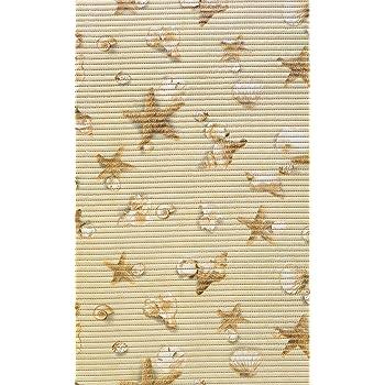 Bodenbelag Aquamatte Weichschaum Badematte Matte Seestern Muschel 130 breit 130 x 50