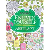 Amazon Brand - Solimo Enliven Yourself Colouring Book for Adults - Abstract