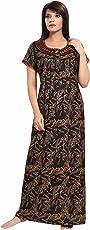 Soulemo Womens Premium Embroidery Alpine Nighty (Multipurpose). 690