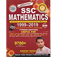 SSC Mathematics 1999-2019 Typewise Questions 7300+ Objective Questions - [English Medium]
