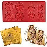 Cinereplicas - Harry Potter - Moule en forme de pièces en chocolat Gringotts - Licence Officielle