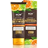 WOW Skin Science Brightening Vitamin C Face Wash - No Parabens, Sulphate, Silicones & Color (100mL)