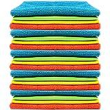 Keep it Handy Chiffon de nettoyage en microfibre super absorbant et non pelucheux pour la maison et le bureau Paquet de…