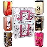 Lot de 6 eaux de parfum avec coffret cadeau pour femmes 15 ml.