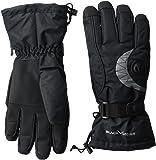 Black Crevice Erwachsene Handschuhe, schwarz/Silber, L