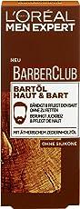 L'Oreal Men Expert Barber Club Bartöl, Pflegt, bändig und kräftig den Bart ohne zu fetten, beruhigt Juckreiz und pflegt die Haut, 30 ml