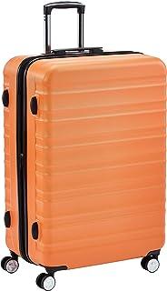 Hochwertiger Hartschalen-Trolley mit eingebautem TSA-Schloss und Laufrollen 78 cm, Orange