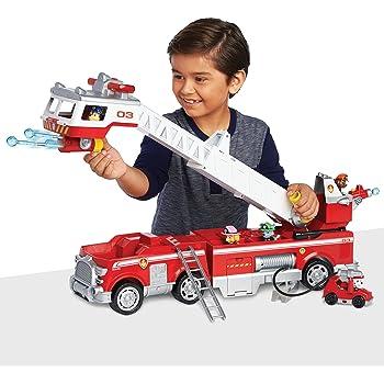 Paw Patrol - 6043989 - Jeu enfant - Camion de Pompiers Ultimate Rescue - La  Pat fffe6ddecd39