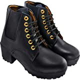 BELLA TOES Women's/Ladies/Girls Leather Ankle Boots