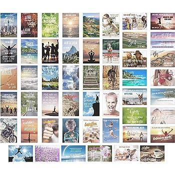 20 spruchkarten retro postkarten mit lustigen spr chen 20 verschiedene spr che 14 8 x 10 5 cm. Black Bedroom Furniture Sets. Home Design Ideas