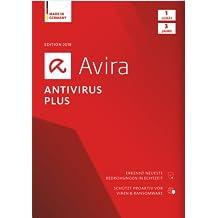 Avira Antivirus Plus Software Edition 2018 / Sicheres Virenschutzprogramm (3-Jahres-Abonnement) für 1 Gerät / Download für Windows (7, 8, 8.1, 10) und Mac [Online Code]