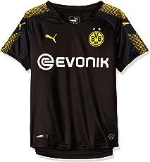 Puma Jungen BVB Kids Away Replica Shirt with Sponsor Logo T
