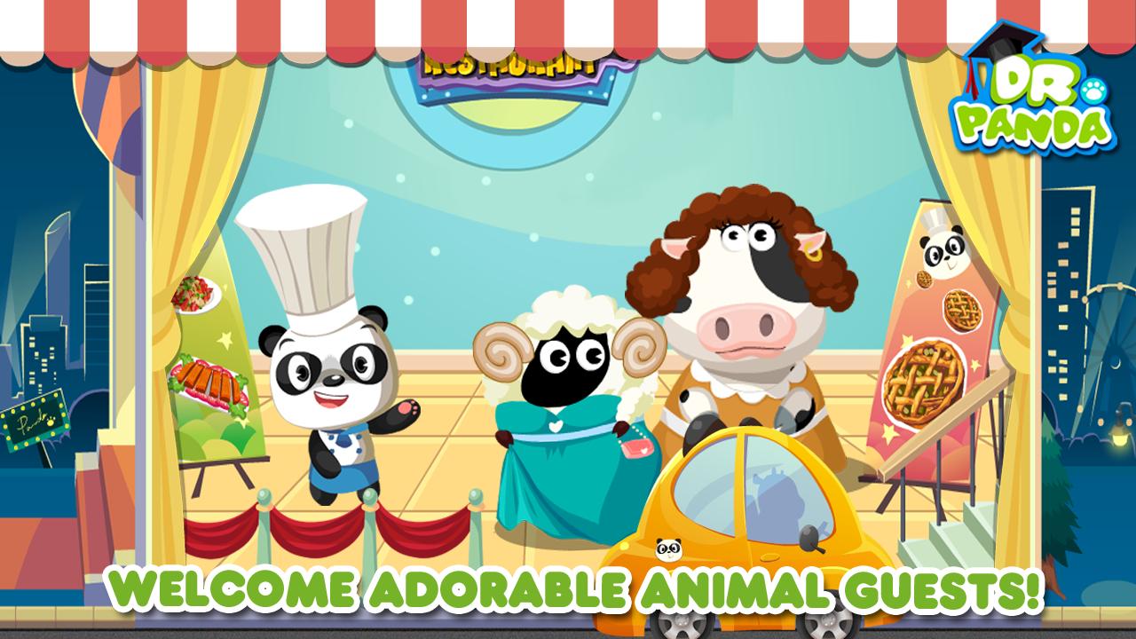Dr panda restaurant jeu de cuisine pour enfants for Cuisine 3d pour android
