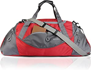 Novex Red Travel Duffle Bag