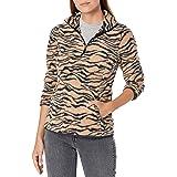 Amazon Essentials - Quarter-zip Polar Fleece Jacket, fleece-outerwear-jackets Donna
