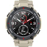 Amazfit T-Rex Smartwatch, Military Standard Certified, Tough Body, GPS, 20-Day Battery Life, 1.3'' AMOLED Display, Water Resi